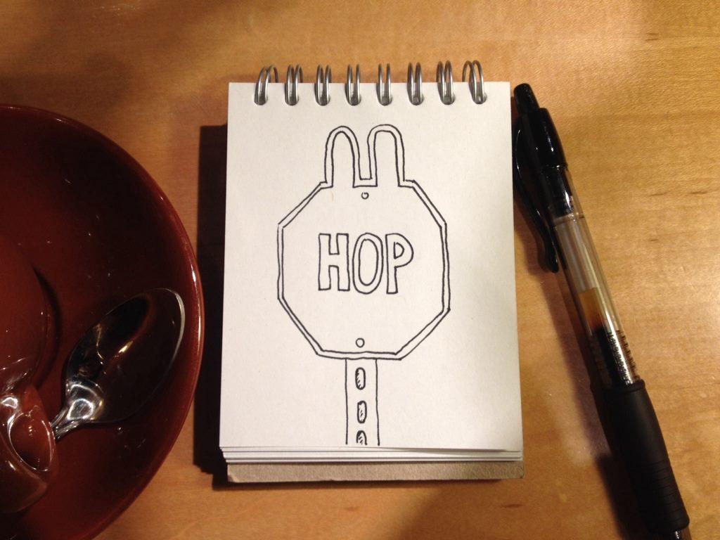 hop-sign